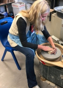 Arts and crafts potters wheel