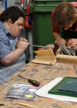 Learning Disability Activities woodwork