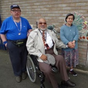 A visit from Councillor Chung